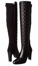 Stuart Weitzman Over Knee Boots Size: 11 Us (Eu 42) New Ship Free Black Leather - $885.00