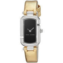 Marc Jacobs Women's MJ1500 Monogram Gold-Tone Leather Watch - $128.43