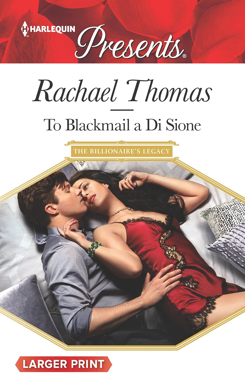 To Blackmail a Di Sione (The Billionaire's Legacy) [Mass Market Paperback] [Aug
