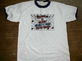 Mexico Boarder Crossing T-shirt Spanish Build Wall I'll Come Back Large - $8.54