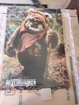 "Star Wars Return of The Jedi Wicket The Ewok Movie Poster Print 1983 24""... - $59.39"