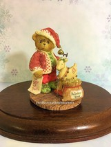 Cherished Teddies Santa Series 2001 Wendall LE Used No Box SIGNED - $34.60