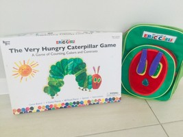 The World Of Eric Carle Back Pack & The Very Hungry Caterpillar Game  - $25.74