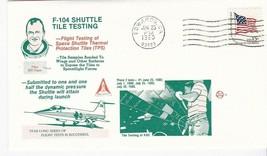 F-104 SHUTTLE TILE TESTING BILL DANA EDWARDS CA JUNE 25 1980 SPACE VOYAGE - $1.78