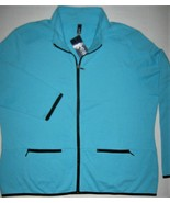 Womens GEAR for Sports Zip Front Sweatshirt Pockets Fleece Jacket New Aq... - $19.75