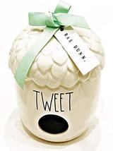Rae Dunn by Magenta Ceramic Acorn Birdhouse | Inscribed: Tweet - $69.29