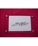 BRUCE SPRINGSTEEN Autographed Signed Signature Cut w/COA - 30735 - $50.00