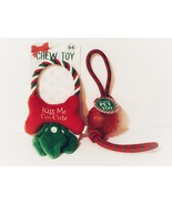 """NEW Fun Holiday """"Kiss Me, I'm Cute"""" Pet Chew Toy, 2 Piece Set - $8.88"""