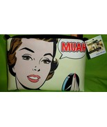 "MUAH Stella And Max Mandi Travel Cosmetic Makeup HandBag Purse 7"" tall 9... - $15.14"
