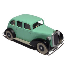 Tintin in America gangstes Voiture Tintin cars Editions Atlas 1/43 image 2