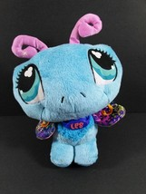"8"" LPS BLUE BUTTERFLY Plush Littlest Pet Shop Hasbro Stuffed Animal Toy ... - $9.99"
