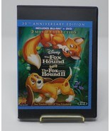 The Fox and The Hound 1 & 2, II (Bluray + DVDs) 30th Anniversary Edition - $14.84