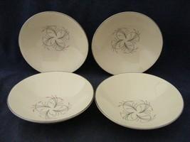 "4 Homer Laughlin Rhythm Capri 5 3/8"" Fruit Bowls Mid-Century Modern - $9.95"