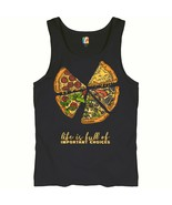 Life Is Full of Important Choices Tank Top Funny Pepperoni Pizza Men's Top - $16.05 - $23.99