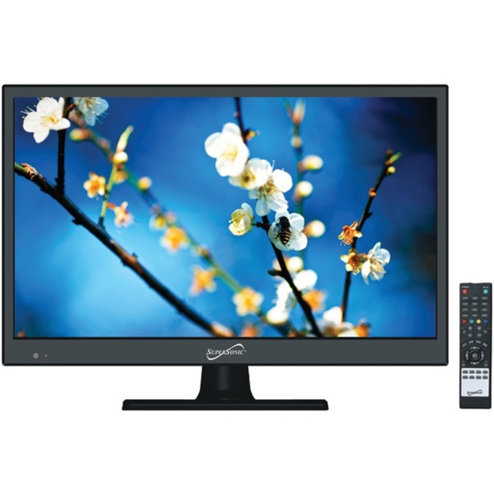 Supersonic SC-1511 15.6 720p LED TV, AC/DC Compatible with RV/Boat