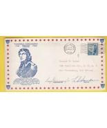 GENERAL KOSCIUSZKO BIRTHDAY ANNIVERSARY SIGNED BY MAYOR & POSTMASTER 2/1... - $3.58