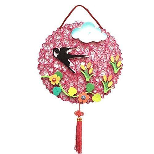 Nursery Dcor Products Children DIY Hand Made Wall Decorations, Round