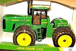 1998 John Deere 9200 Tractor Replica Toy 1/16 Scale w/ Box  AA20-JD0082 Vintage