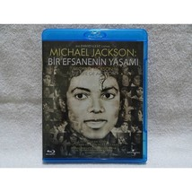 Michael Jackson The Life Of An Icon turkish press BLURAY - $39.59