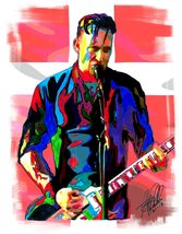 "Michael Poulsen, Volbeat, Vocals, Guitar, Heavy Metal, Rock, 18""x24"" Art... - $19.99"
