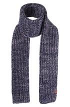 Bickley + Mitchell Chunky Knit Scarf, Navy Twist, One Size - $44.54