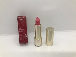 Clarins Joli Rouge Moisturizing Perfect Shine Sheer Lipstick #25 Rose Blossom - $19.13