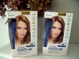 2 New Boxes Clairol Root Touch Up Hair Color # 6 Light Brown Permanent 10 Minute - $12.82