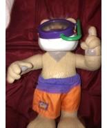 VINTAGE 1998 Mattel Gettin' Wet Bubba Bear Doll - $19.79