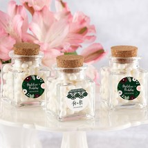 Romantic Garden Petite Square Glass Favor Jar  - $24.99