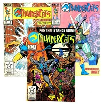 Thundercats 3 Comic Lot Issues 3 8 12 Marvel 1986 80's Cartoon Toyline - $9.85