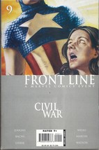 (CB-51) 2006 Marvel Comic Book: Civil War Frontline #9 - $3.00