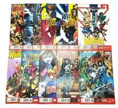New Warriors 1-12 Volume 5 Complete Set Marvel Comic Book Lot Run Yost T... - $48.37