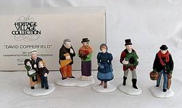 David Copperfield Heritage Village Accessories Figures 5551-4 People Dept 56   - $19.79