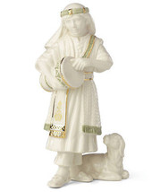 """Lenox Drummer Boy First Blessing Nativity Figurine 6.25"""" New In Box - $59.90"""
