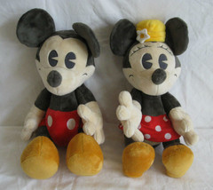 Rare Vintage Disney Mickey Mouse and Minnie Mouse - $160.00