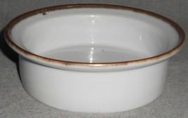 Dansk Brown Mist Rim Soup Or Cereal Bowl Blue Backstamp Made In Denmark - $19.79