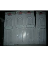 Lot of 4 Fisher Price Baby Cabinet Locks Child Safety new  - $11.98