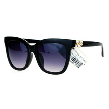 Designer Fashion Womens Sunglasses Rhinestone Accent Square Frame UV 400 - $10.75