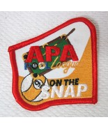 Older APA Leagues On The Snap Patch Red Edge Pool Hall Billiards Ball Ja... - $14.36