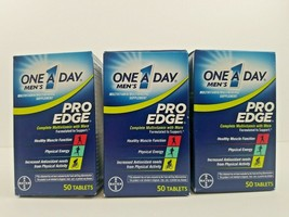 (Pack of 3) One-A-Day Men's Pro Edge Complete Multivitamin 50 Tablets, Exp 06/21 - $17.99