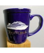 "Carnival Magic Mug Cobalt Blue Large 4.5"" - $15.00"