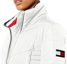 Tommy Hilfiger Women's Short Chevron Quilted Heritage Puffer Jacket image 2