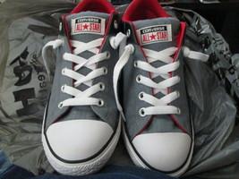 Converse Chuck Taylor AllStar Hi St. Unisex Style: 659468F Grey/Black si... - $20.00