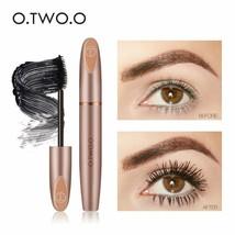 O.TWO.O® 3D Silk Fiber Eyelash Black Mascara Waterproof Long Lasting Las... - $6.07