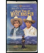 1994 How the West Was Fun VINTAGE VHS Clamshell Edition Olsen Twins - $13.99