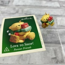 Hallmark Miniature Keepsake Ornament 2005 Love To Shop! Holiday Memory N... - $6.89
