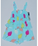 Genuine Kids from OshKosh Girls Romper 18M Bl Ice Shapes - $7.50