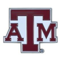Fanmats NCAA Texas A&M Aggies Diecast 3D Color Emblem Car Truck RV 2-4 Day Del. - $10.64