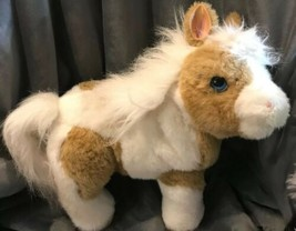 FurReal Baby Butterscotch Horse Interactive Miniature Pony Realistic Plush Sound - $91.38