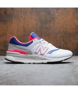 NEW BALANCE 997 H SHOES in WHITE / LASER BLUE sz 6.5 - $77.22